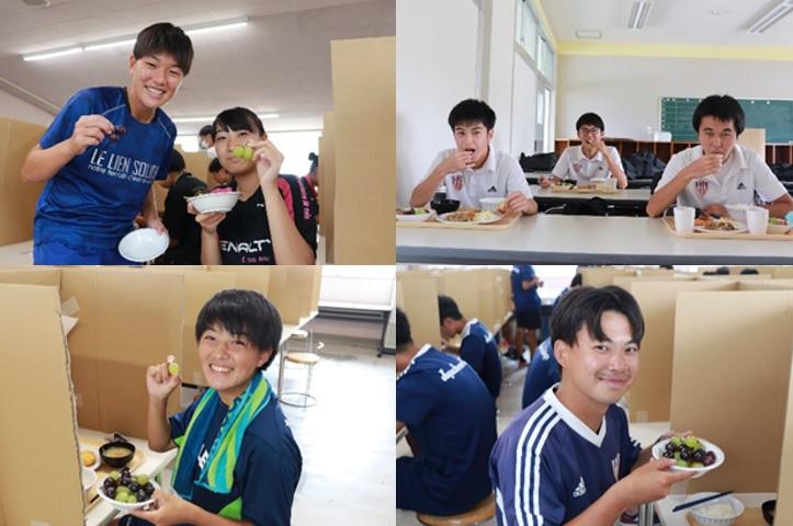 【JAPANサッカーカレッジ】地元行政実施のクラウドファンディング「学生たちにおいしいもので元気を出してもらおう...