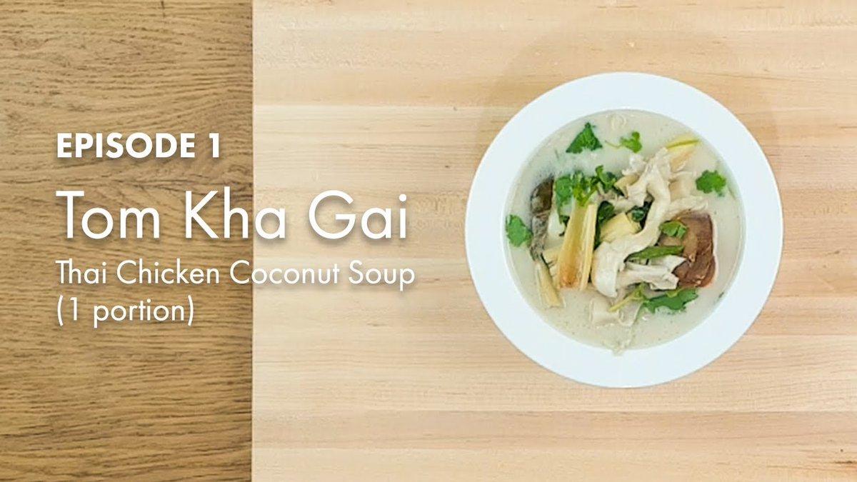 "Check out my own take on a Thai classic recipe ""Tom Kha Gai - Thai Chicken Coconut Soup - Easy Recipe"".  Watch Now: https://t.co/4qGCQZxFnu  #ThaiFood #ThaiRecipes #Yummy123 https://t.co/MhKC5W0AKb"