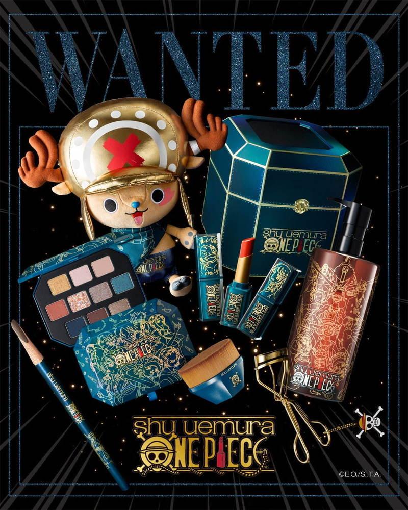「シュウ ウエムラ × ワンピース コレクション」第2弾、ナミとロビンのクリスマス限定艶ハイライター -