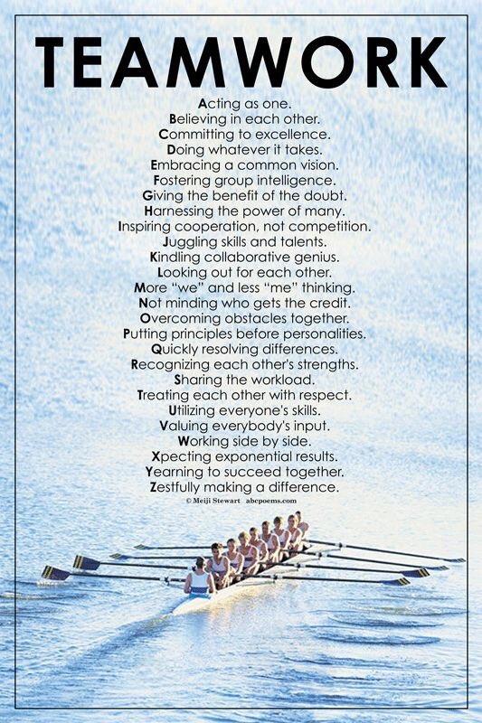 Teamwork from A-Z #teamworkmakesthedreamwork https://t.co/EPuTOmIZGe