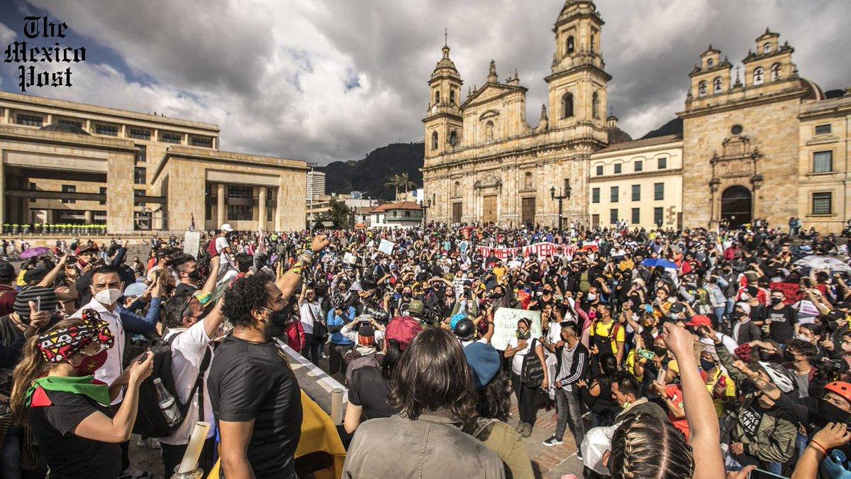 Movimientos sociales y sindicales de #Colombia retoman mañana las movilizaciones en las calles para protestar contra la #brutalidad policial y reclamar por el asesinato de líderes sociales y la crisis causada por la #pandemia del #coronavirus. https://t.co/LR8ApfocUR