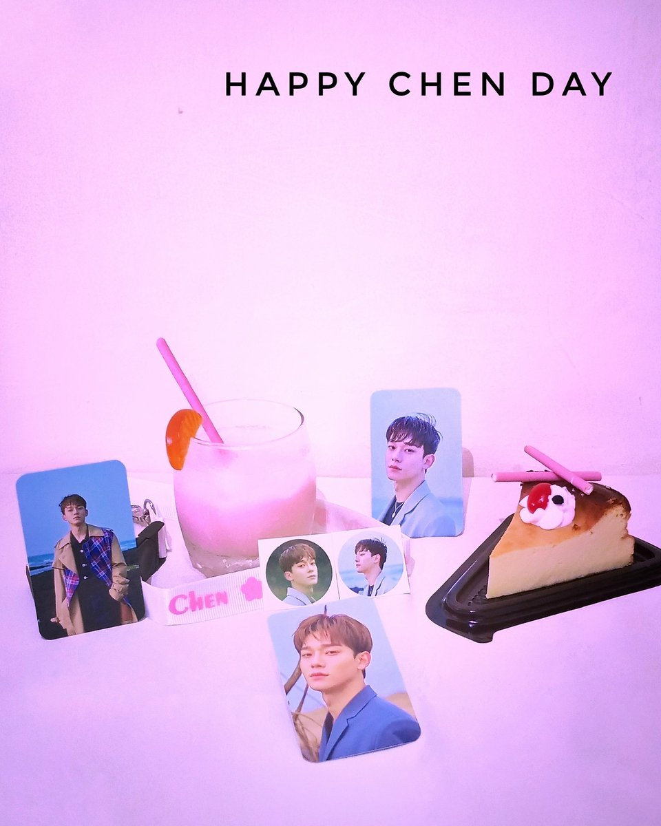 Happy birthday our main vocalist Kim Jongdae 🥳🎂🎉❤️  Keep smiling and always be with OT9. I wish you happiness with your little family. We always support you. Fighting 💪  #HappyCHENDay #CHEN #EXO #WeAreOne #CHEN_IS_EXO @weareoneEXO https://t.co/ctqFCvorZP