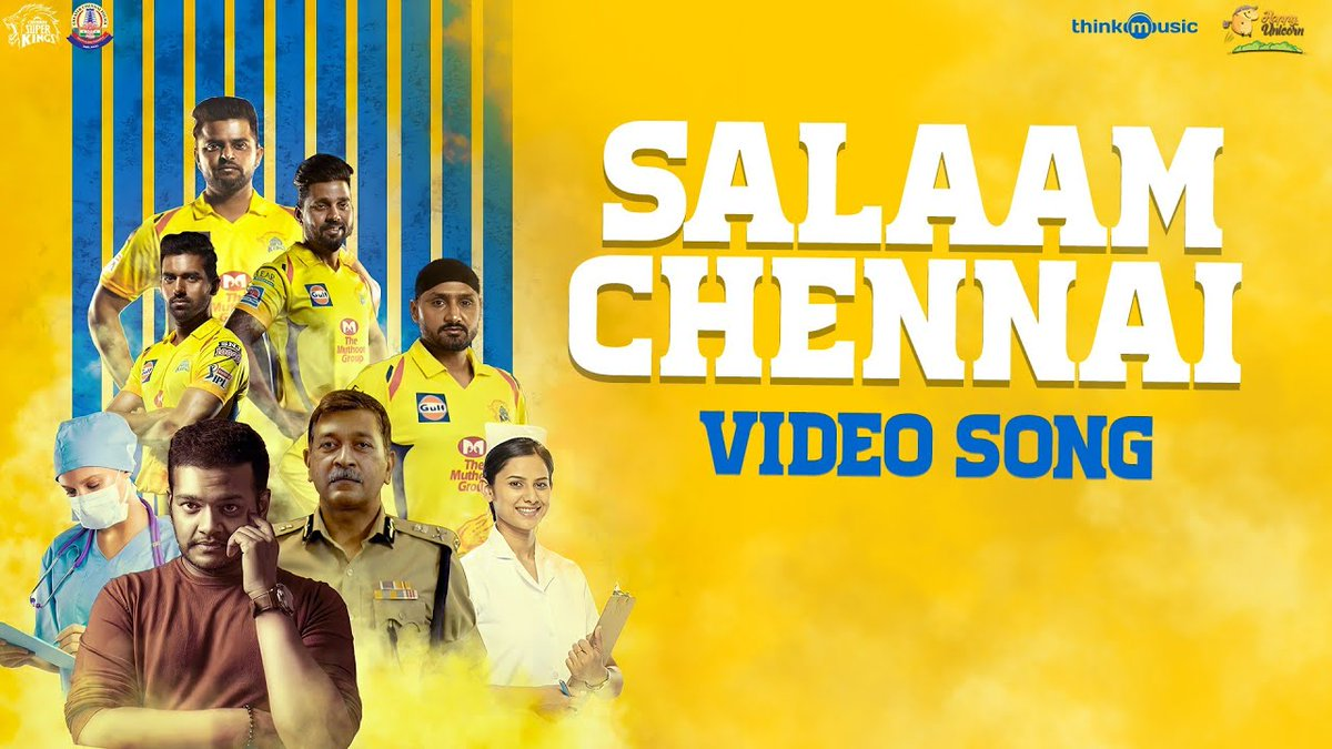 #SalaamChennai: @GhibranOfficial & @ChennaiIPL collaborate for Greater Chennai police initiative   Read here  https://t.co/5MD3onRgep @thinkmusicindia https://t.co/HkEKoj6wLV