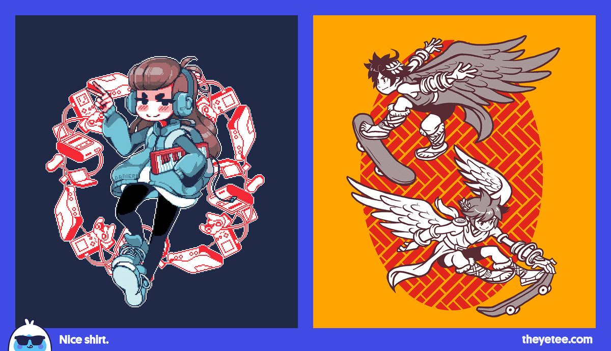 The Yetee On Twitter New We Ve Got Nintechno By Daniel Reis And Skater Angels By Hellowintersa Both Available For 24 Hours Only At Https T Co Zd8uexq3ta Https T Co Tqknlg5gcx Weve got adventure awaits and friends furrever both by jaime ugarte and available for 24 hours only at theyetee.com. twitter