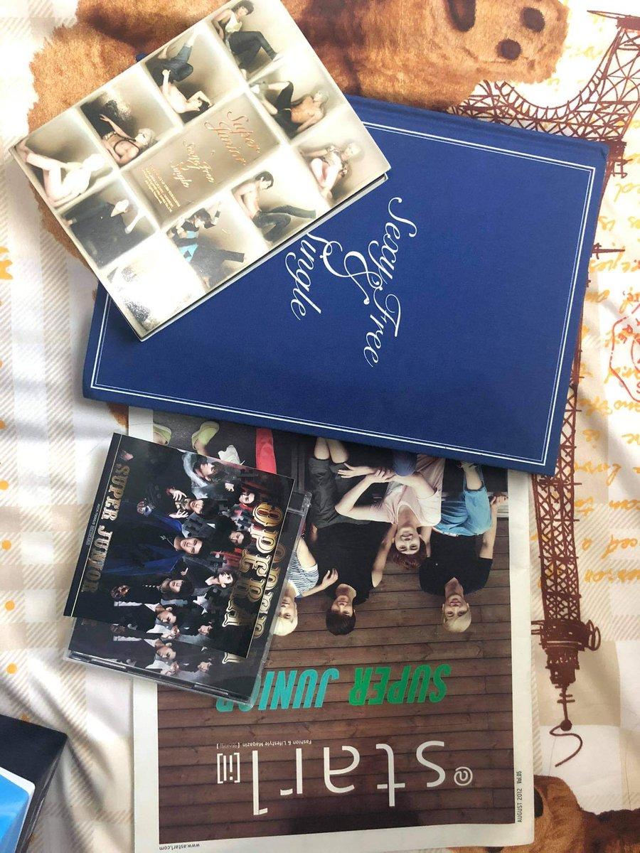 WTS..Bantu temen jual album Suju Sexy, free & Single Opera..  Minat DM ya..^^ #SUPERJUNIOR #SUJU #SexyFreeNSingle #SuperJunior #Leeteuk #Siwon #Yesung #Donghae #Shindong #Eunhyuk #Ryeowook #Kyuhyun #Sungmin #Heechul #Opera https://t.co/rgPpQbxpnA