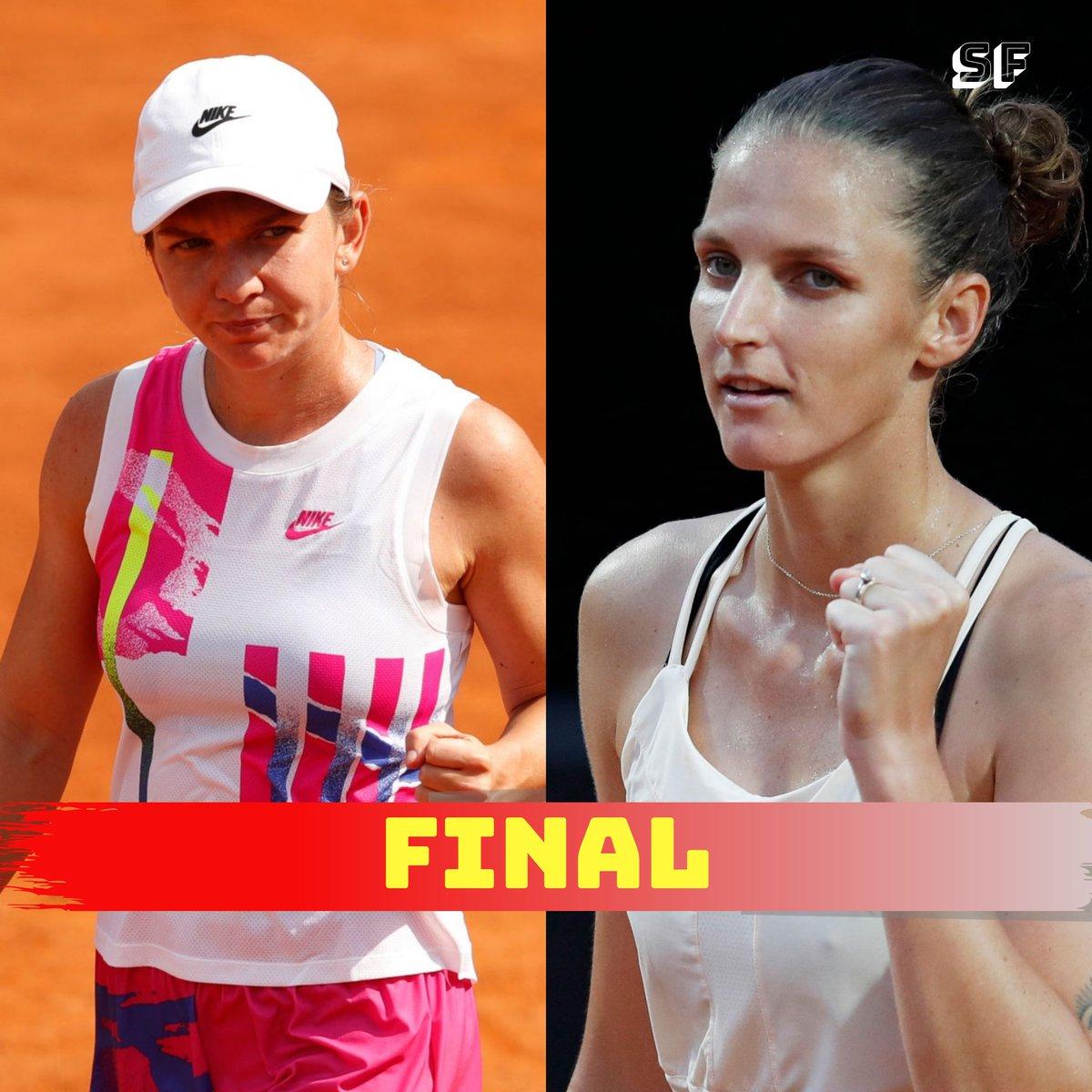 Top seed 🇷🇴 Halep to meet Depending Champion  🇨🇿 Karolina Pliskova in Italian Open title clash  #IBI20 #Tennis https://t.co/OaP7ZVwCfy