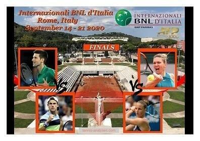 #internazionalibnlditalia  #2020 #wta & #atp #finals #preview  https://t.co/XE5eiZwXlB  На 21.09.2020г. ще се проведат финалите на Italian Open 2020.  При дамите двубоят е с начален час 15.30 часа българско време на Foro Italico като една срещу друга излизат двукратната финалис… https://t.co/b6AUDVS6X8
