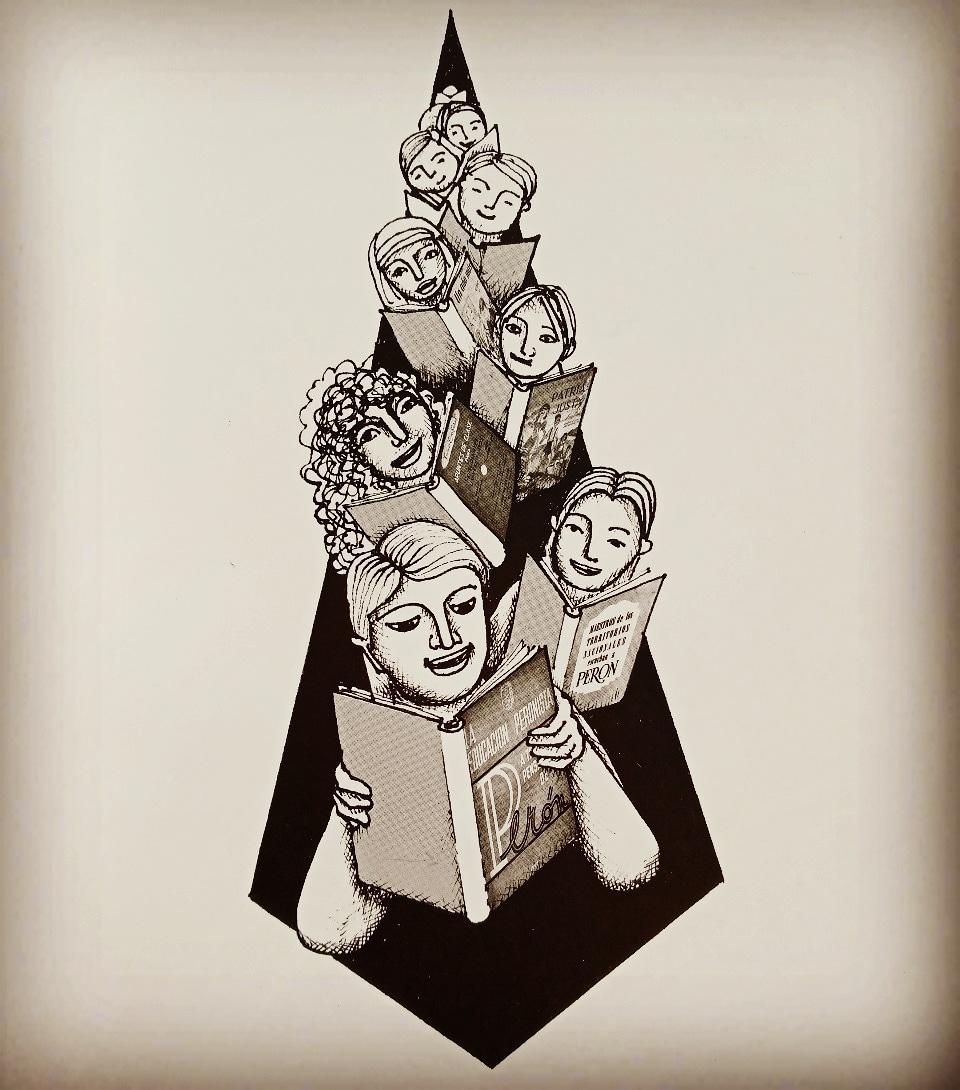 """""""Somos revolución en estado puro"""" MUY Feliz dia del estudiante para todxs!!! Ilustracion @norapatrichyah1  """"Peronistas que estudian""""  Serie #NoMeOlvides  #Efemérides #UnDíaComoHoy #21deSeptiembre #DíaDelEstudiante #EditorialJirones #QuedateEnCasa #Estudiantes #LaPatriaEsElOtro https://t.co/IPPpvHHOXC"""