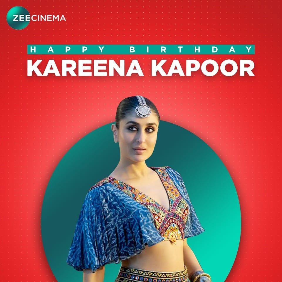 Wishing the gorgeous, Kareena Kapoor Khan a very happy birthday!  #KareenaKapoorKhan #HappyBirthdayKareenaKapoor #ZeeCinema #SeeneMeinCinema  @KareenaMania @KareenaK_FC @ikareena @KareenaKap00r https://t.co/ulJNlZcifZ