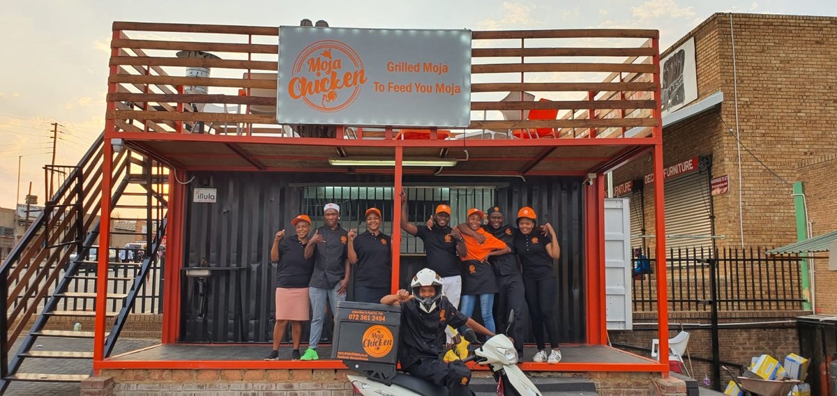Our very first Franchise store officially opens on Saturday in Mpumalanga Elukwatini. Our brand turns 1 on the 28th of September 2020. The shop will be opened by the MEC, district Mayor and local councilor. Moja Chicken is 100% black owned @akaworldwide @@KwestaDaKAR @Boity https://t.co/7D79K2BwOs
