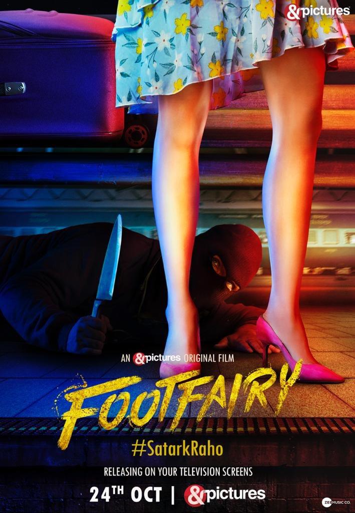 #FootFairy by @kanishk_v, feat. @gulshandevaiah @sagarikavghatge and @ikunaalroykapur, premieres Oct 24th on @AndPicturesIN.  @iNitinUpadhyaya @ODDBALLIndia  @jeetmusic @ZeeMusicCompany @anuragbedi @RuchirTiwari https://t.co/e1lH1rxNuy