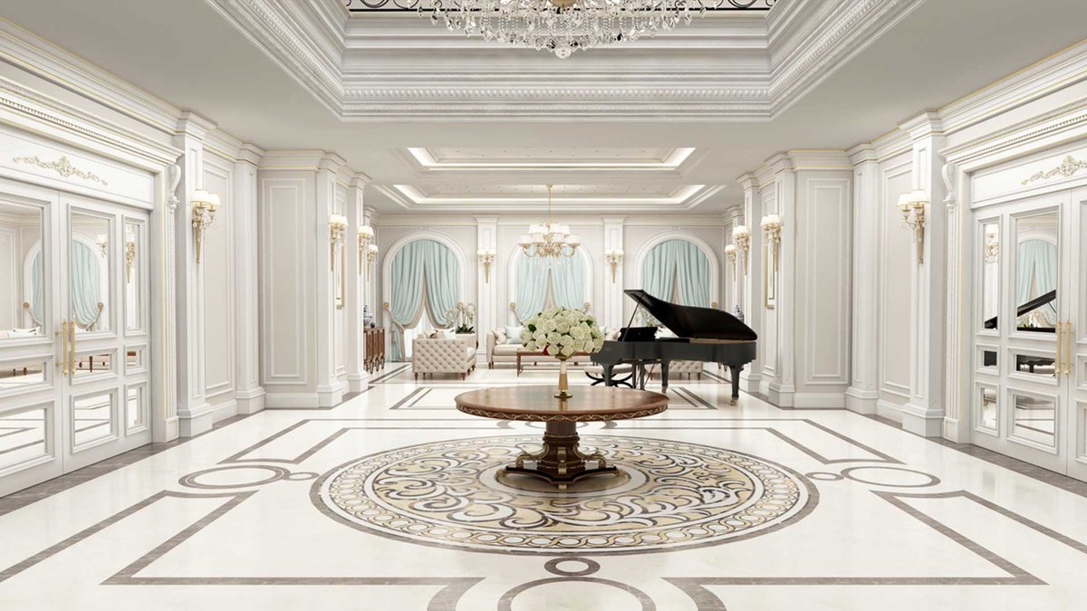 Sia Moore Architecture Interior Design On Twitter Designed By Siamoore And Located In Irbil Iraq The Majidi Mansion Project Offers Exclusive Luxurious Interiors Decorated In Elegant Neoclassical Style Luxury Luxuryvilla House Mansion