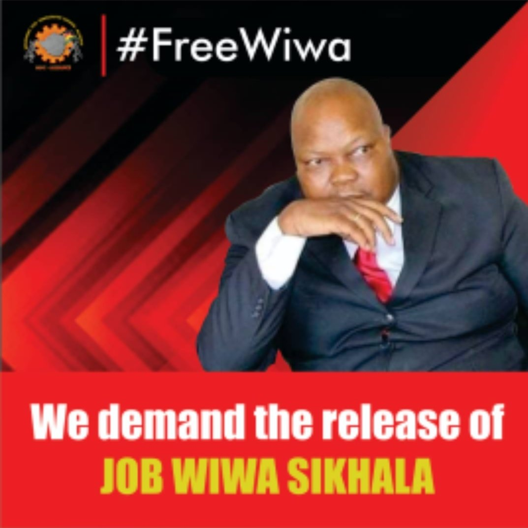 The High Court will hand down its ruling on Hon Job Sikhalas bail appeal on Tuesday 22 September at 2:30 PM. We demand the release of our Vice-Chairperson. Demanding a better life for Zimbabweans is not a crime. #FreeWiwa