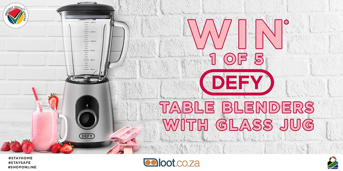 Celebrating Heritage Month & Proudly SA brands,Defy is spreading the love yet again.Share the post,tag a friend,tag more friends to better your chances (one friend per comment) and you could WIN*! *T&Cs Apply *Use #supportlocal *Comp ends 23:59pm, 27 Sept 20 #localislekker https://t.co/ANm9Gq1HzI