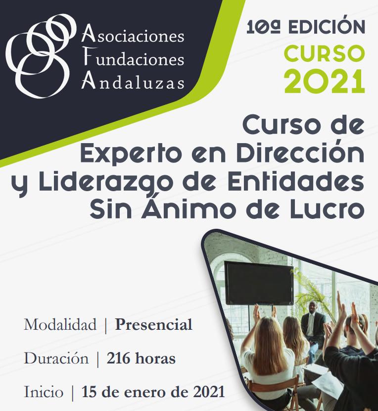 Ya está abierto el curso de #direccion y #liderazgo de @afandaluzas https://t.co/DOOb9su66i #formacion #tercersector #fundaciones https://t.co/tCPrFASApw