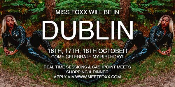 The boys have spoken and I'm coming back to DUBLIN!  Apply via https://t.co/Uq9rifWFbk  16th, 17th & 18th October, first come first serve!  #FemDom #Ireland #Dublin #IrishDominatrix #DubinDomme #TravellingDomme #Domina #Mistress #Ebonatrix @blablabla350 @DommesTour @irelandfemdom https://t.co/IfXrq7g6R8