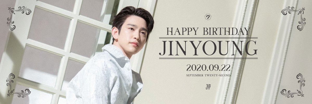 HAPPY BIRTHDAY Jinyoung  #OurBrightestStarJinyoungDay https://t.co/9f0b0bSZDf