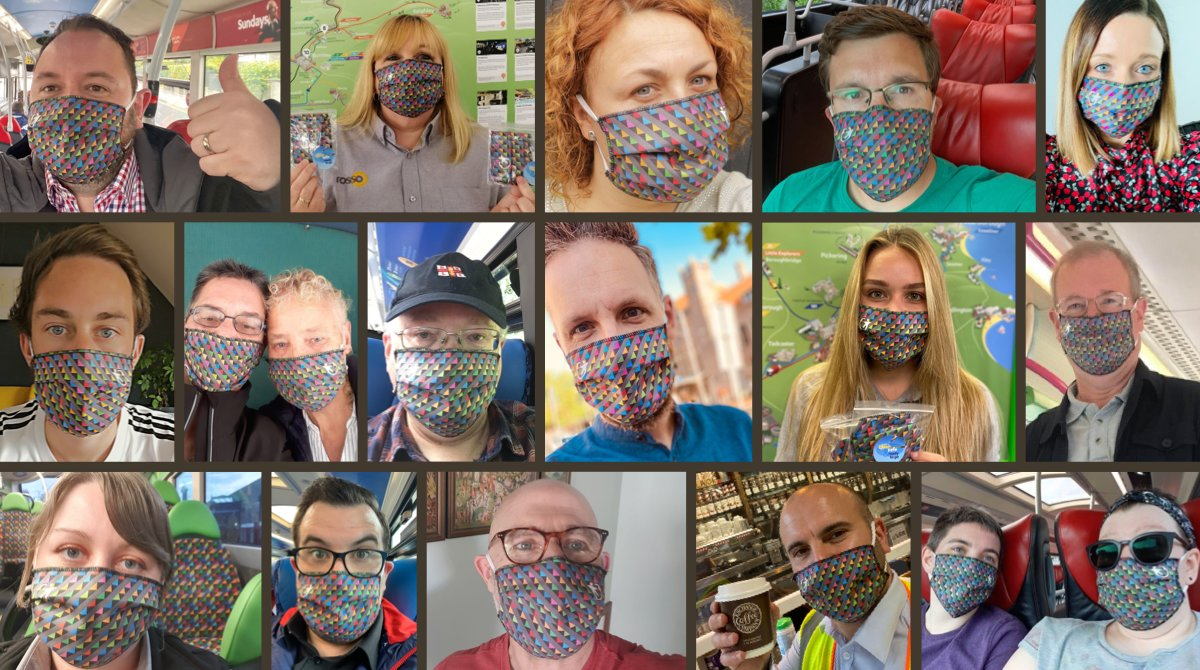 🚍🛍 On the bus or shopping?  We've got you covered with our 'all the colours of Transdev' face coverings.  🔹 £4.50 from our pop-up online shop 👉https://t.co/BhxVHLzh8k  #CleanSafeReadytoGo https://t.co/nx5XDxdZgV