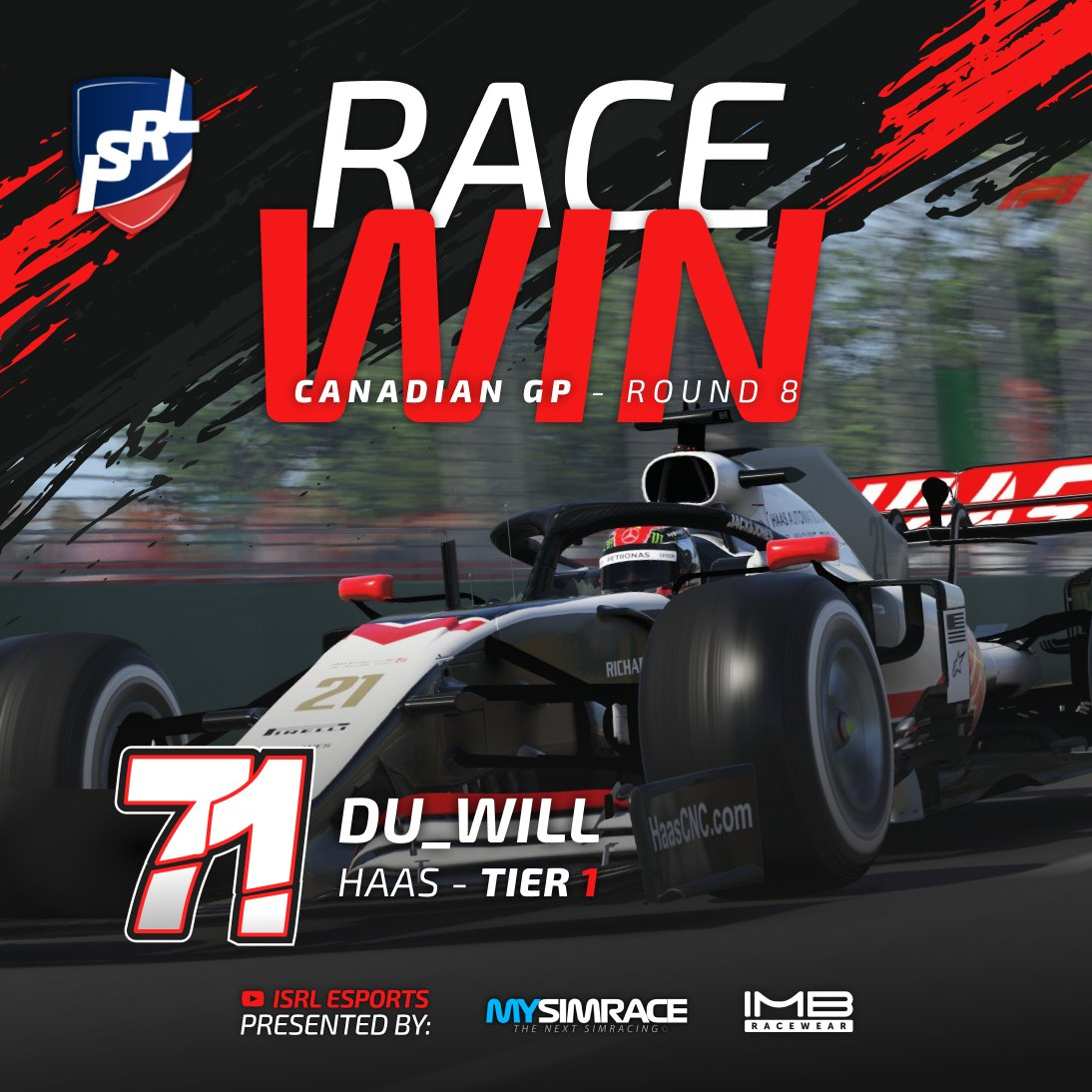 The #isrlseason3 carries on and our home race has come and gone! 🇨🇦  We had a thrilling race weekend filled with variable conditions, overtakes, crashes and more.... check out the 3 drivers who prevailed and won! ⬇️  Race replays: https://t.co/0guqQ3fLUy  #F1Esports #F12020 https://t.co/L9jWsprklb