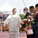 Image for the Tweet beginning: Podczas uroczystej Mszy Św. na