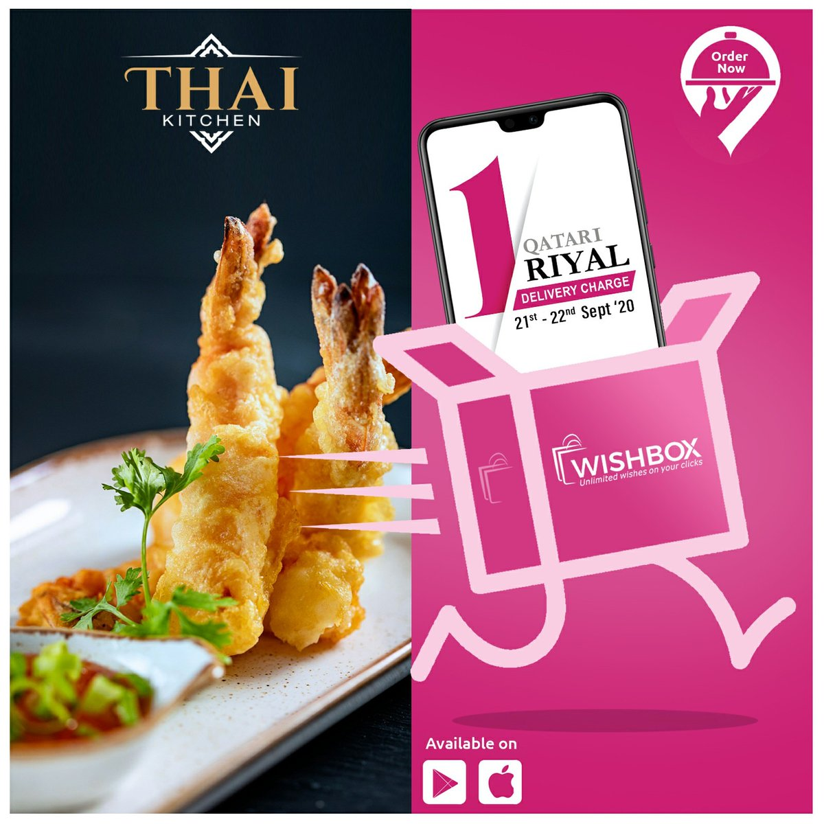 Serving its best-loved Thai dishes through @wishboxqa delivered to your doorstep. Only QR1 delivery charge on 21 & 22 September 2020. For menu and more details, please call 40095530 or WhatsApp 30015360  #thaikitchenbycentara #qatarrestaurants #dohafoodie #thaikitchen #thaifood https://t.co/Q2KnTbHV03