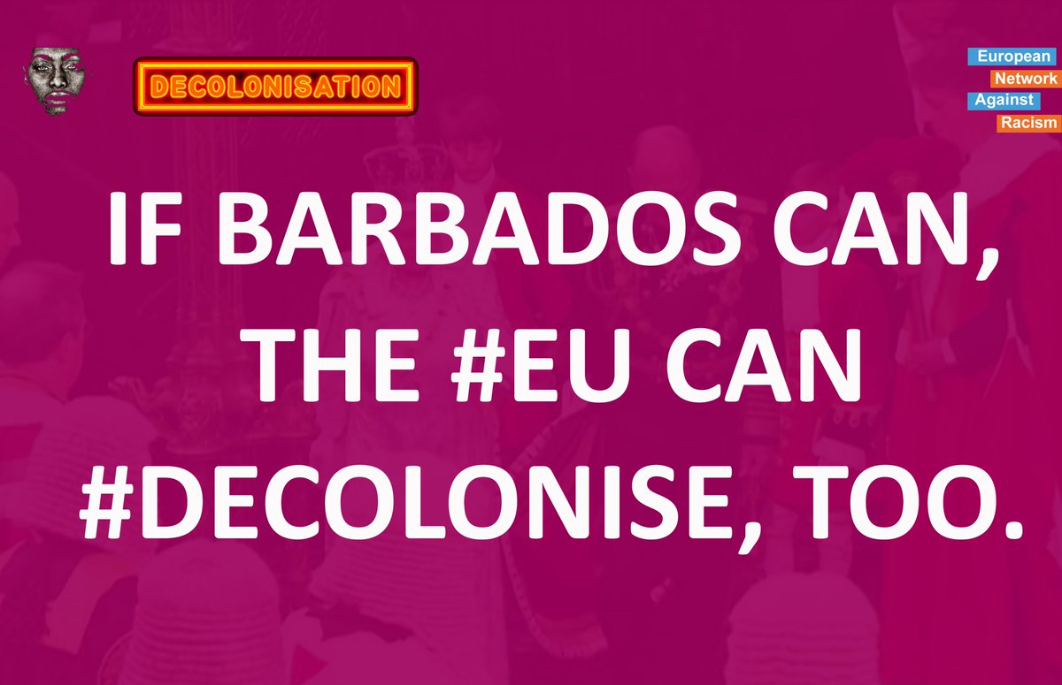 What role does #decolonisation play in the context of dismanteling the foundations of structural #racism in the #EU?  What is the true scale of the #colonial make up of our political, social, economic & structures in #Europe?  Watch now: https://t.co/BHljt0oTxF #ReparationsNow https://t.co/Na2omukY9o