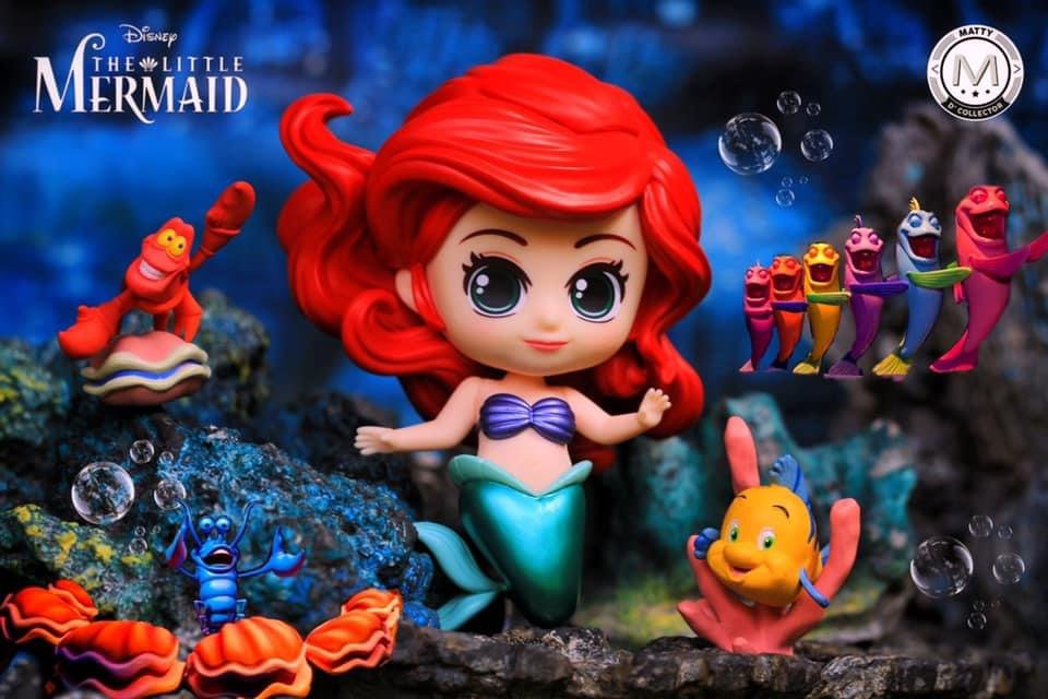 🎶 We got no troubles.. Life is the bubbles under the sea 🎶   #LittleMermaid #HotToys #Cosbaby #Disney https://t.co/tpvndMoIbW