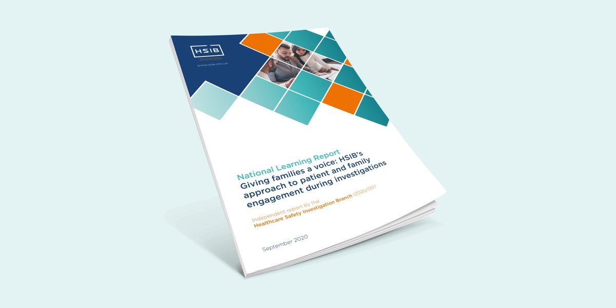 ICYMI, last week we published our national learning report looking at patient and family engagement when it comes to patient safety investigations. Available to download from our website >> https://t.co/sgBqpFhU7V  #patientsafety #familyengagement https://t.co/8PpzVkNLOy