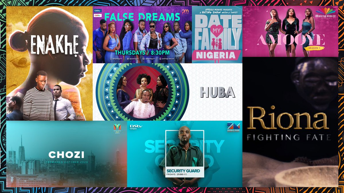 Enjoy the best high quality, unique and homegrown entertainment exclusive to #DStv with new local shows across the continent tailored for our audiences.  #MultiChoiceShowcase2020 https://t.co/bEvjWTTZ9g