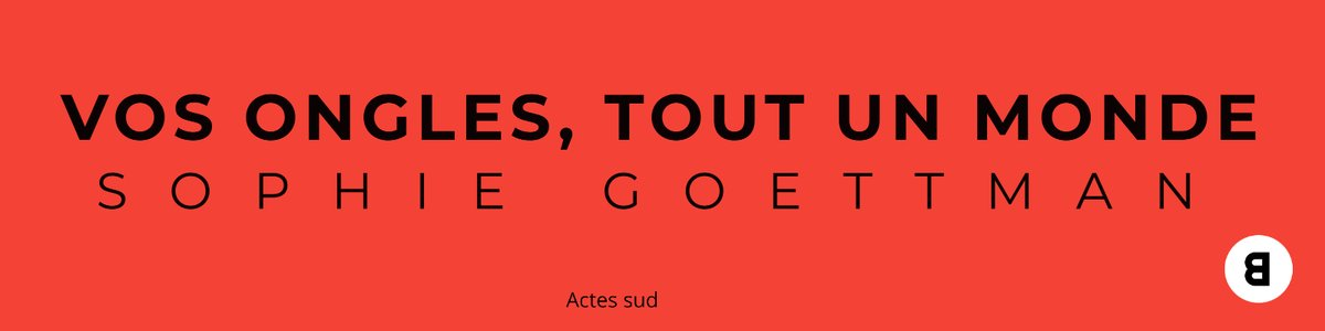 """#CONCOURS gagnez le #livre """"Vos ongles, tout un monde"""" publié aux #éditions @ActesSud  Pour participer : #RT + #FOLLOW + Inscrivez vous sur https://t.co/0XNkawoQ0n #livre #litterature #Faitesvousinviter #lecture #sante #beauté #lire #book https://t.co/mfVqrgLhfm"""