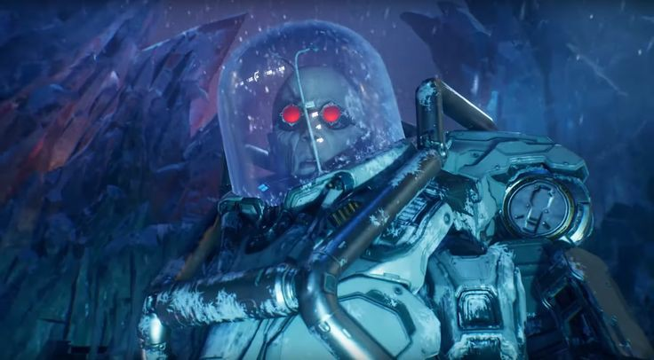 I hope we get a #BatmanBeyond type story with #MrFreeze in #GothamKnights where he's just a head with an artificial body and #Nora isn't around, what do u think? https://t.co/7swCSN0vvU