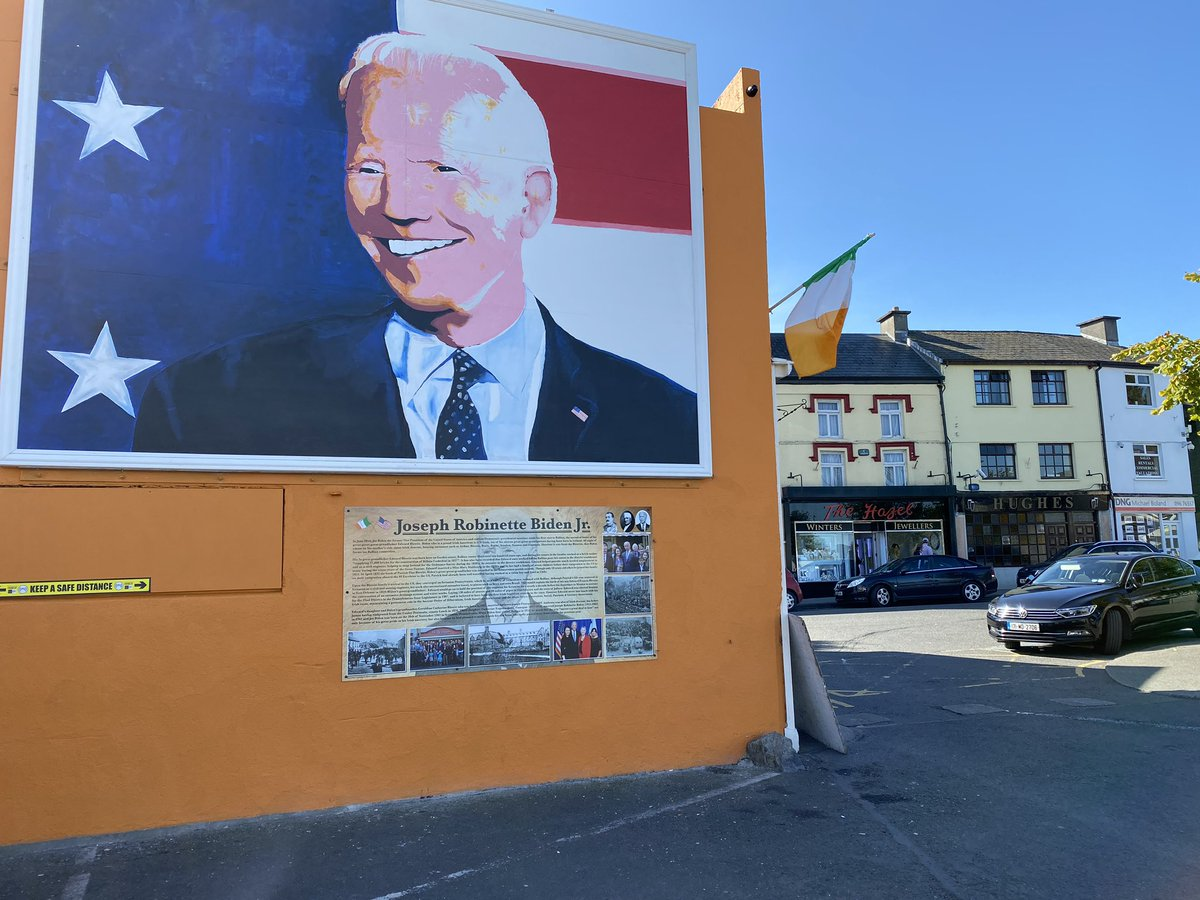 #Biden #Brexit and why this #Irish town #Ballina supports the former VP