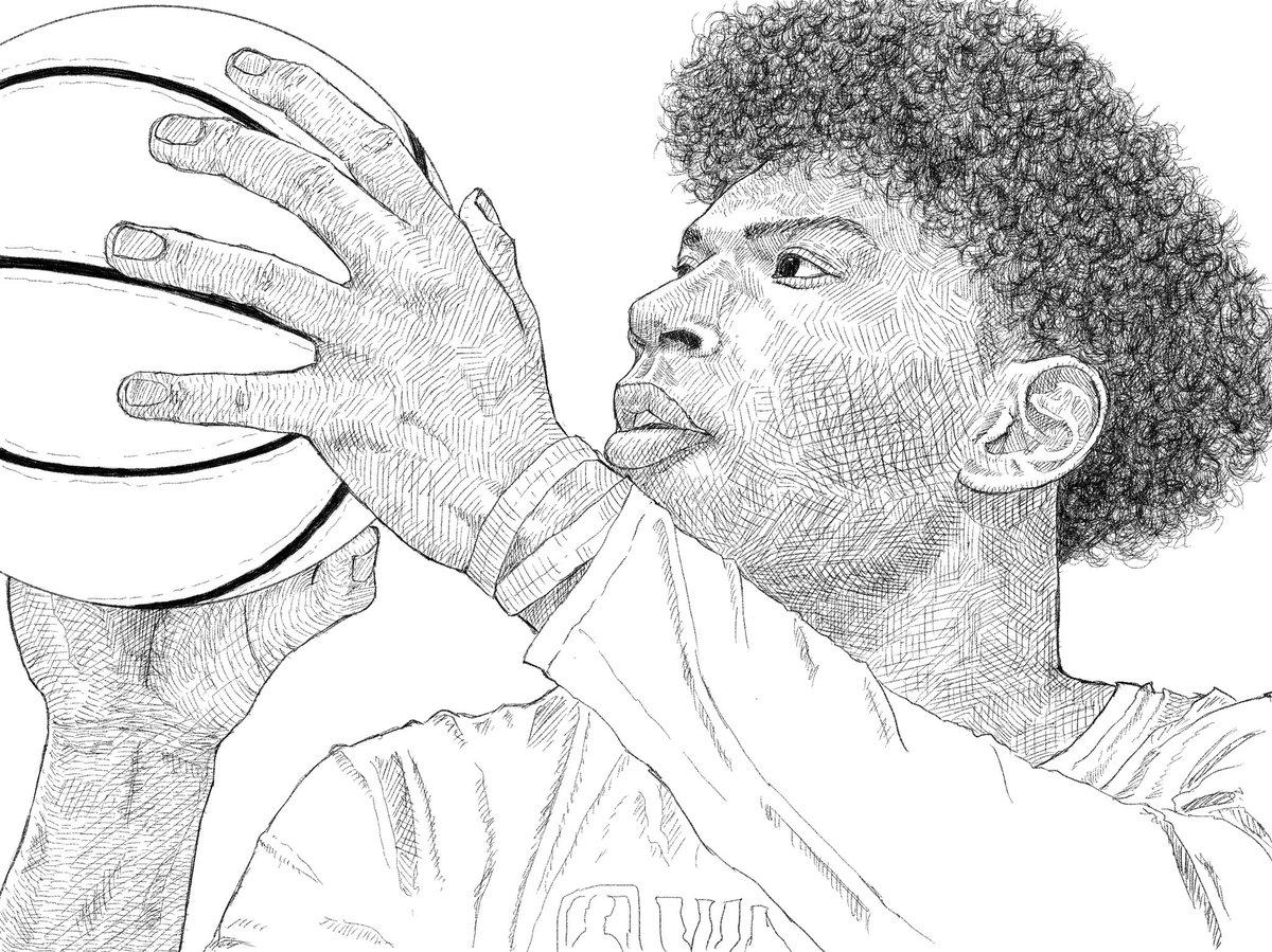 八村塁選手、今一番応援してる日本人!  #八村塁 #八村塁選手 #バスケットボール #バスケで日本を元気に #NBA #nba #NBAPlayoffs #nbaplayer #basketball #basketball_fan #絵 #イラスト好きさんと繋がりたい #ipadpro2020 #procreate #イラスト https://t.co/DjrsaJhjC9