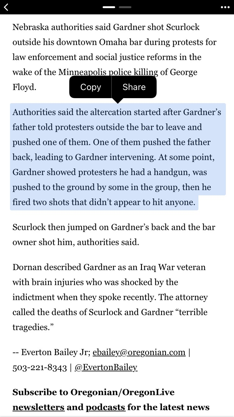 Jacob Gardner original altercation with blm rioters via oregonian