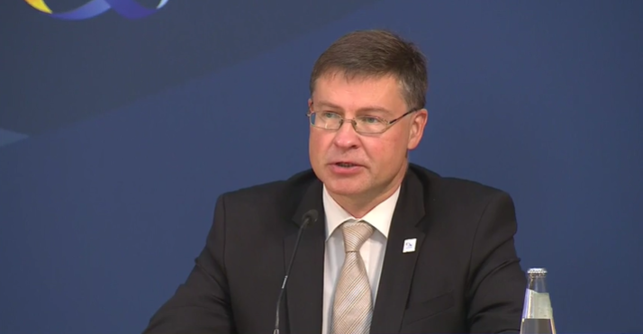 ❗️Informal Meeting of EU Trade Ministers❗️ Press statement by Executive Vice-President @VDombrovskis #EU2020DE 🎥Video available on our portal: europa.eu/!bm48qF
