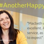 "Image for the Tweet beginning: #AnotherHappyClient: ""Macbeth were excellent. A"