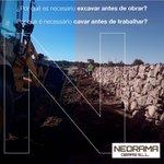 Image for the Tweet beginning: NEORAMA OBRASLas excavaciones son acciones