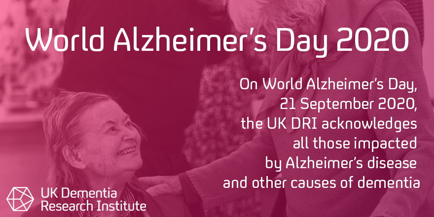 Today, on #WorldAlzheimersDay, UK DRI acknowledges all those impacted by the disease & other causes of dementia  Our 600+ researchers are working hard to uncover the causes of #dementia and identify promising treatments  Prof Bart De Strooper reflects 👉 https://t.co/hFILnHJCV9 https://t.co/JPI1Ovct4j