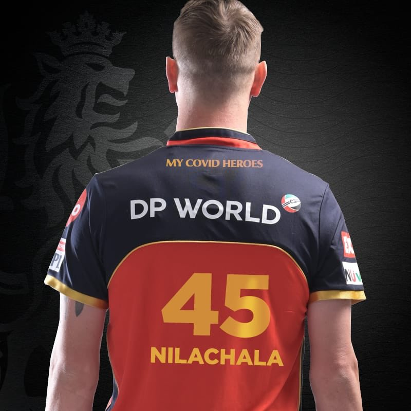Nilachala Parida set up a vegetable shack during lockdown and offered free delivery to senior citizens. Saluting Nilachala's spirit,I'll be wearing a jersey dedicated to him and all such challengers! #CovidHeroes  #WeAreChallengers #MyCovidHeroes #ChallengeAccepted https://t.co/ExQxFyU6Lw
