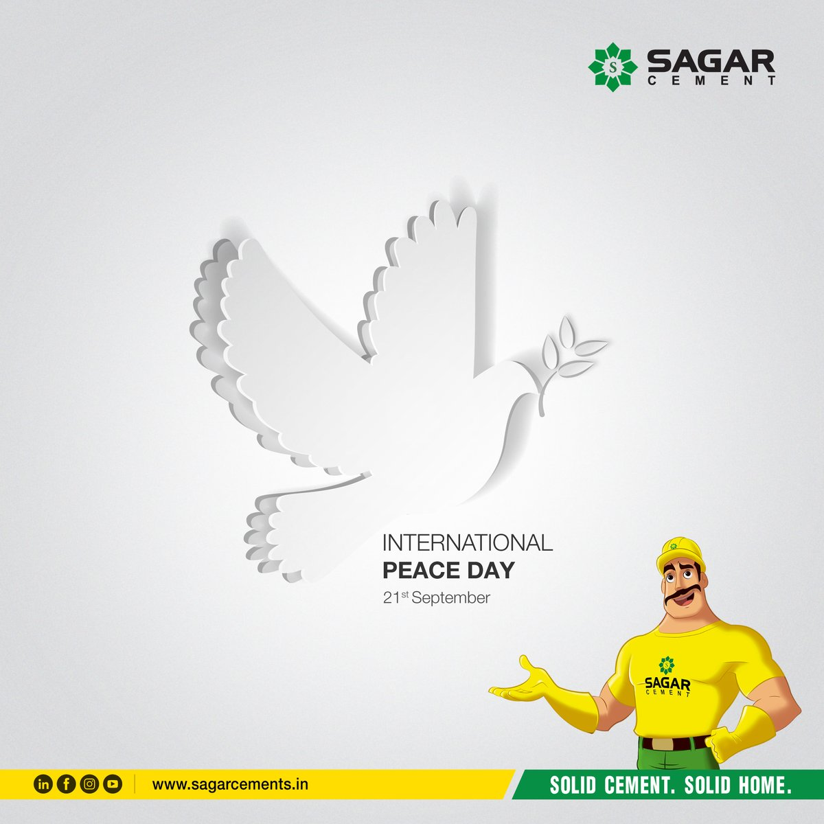 Peace cannot be kept by force, It can only be achieved by understanding. #InternationalPeaceDay2020   #PeaceDay #InternationalDayOfPeace #worldpeaceday #WorldPeaceDay2020 #PeaceDay2020 #peaceful #peaceofmind #PeaceAndLove #Peace #PositiveVibes https://t.co/iJeYzGScd9