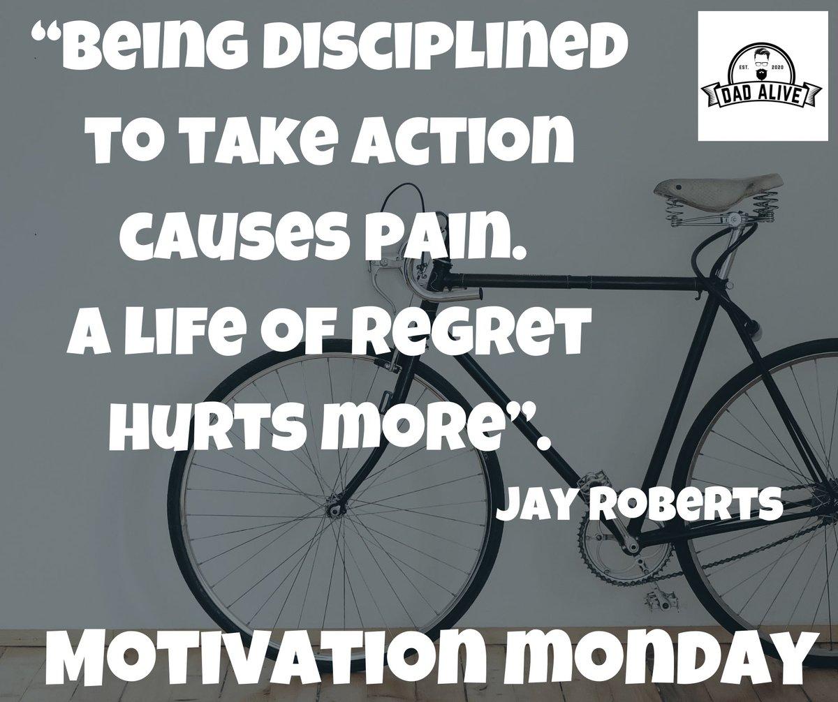#motivationmonday #energy #action #discipline #regret #coaching #positivevibes https://t.co/pie6jZHVxH
