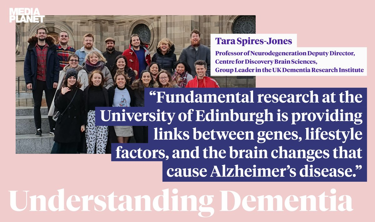 For #WorldAlzheimersDay we worked with the public engagement campaign for Understanding Dementia with @MediaplanetUK  Check it out online https://t.co/K9knnQ9j8Z or in today's @NewScientist to read about some of our lab work @EdinburghUni https://t.co/TzHWnTl1PQ
