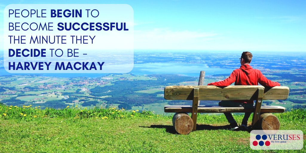 People begin to become successful the minute they decide to be - Harvey Mackay  #Quotes #MotivationMonday #SriLanka #lka #LK https://t.co/r97AlND9WO