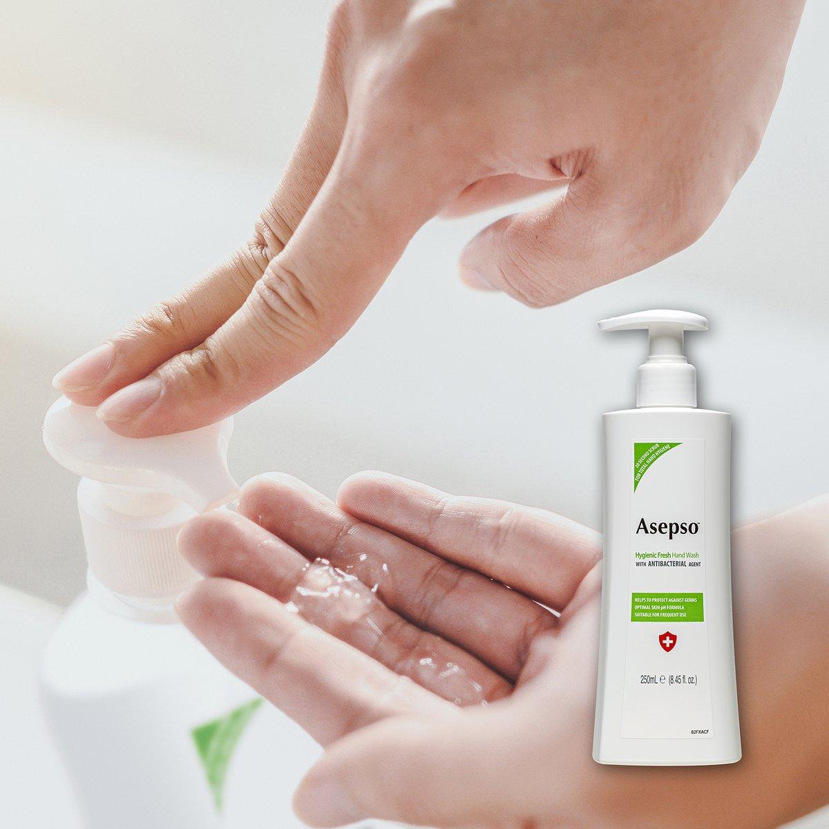 📸 NEW #Asepso Hygienic Fresh Hand Wash 🚿🤲💚 https://t.co/Ltupq5gOOj