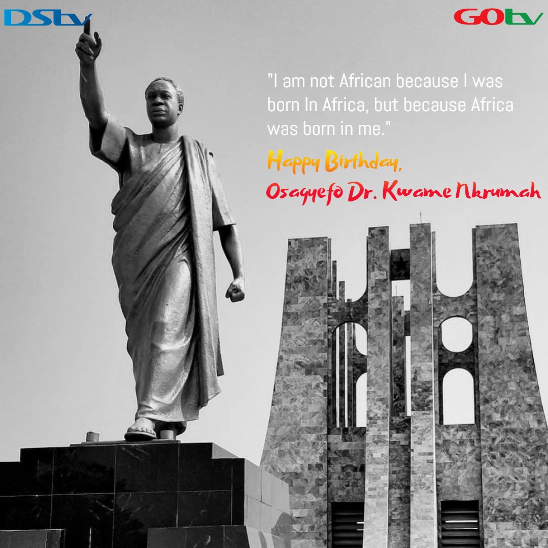 Happy birthday to an African titan Osagyefo Dr. Kwame Nkrumah, the first President and Prime Minister of Ghana. #KwameNkrumah🇬🇭 https://t.co/UKgfs4lJOX
