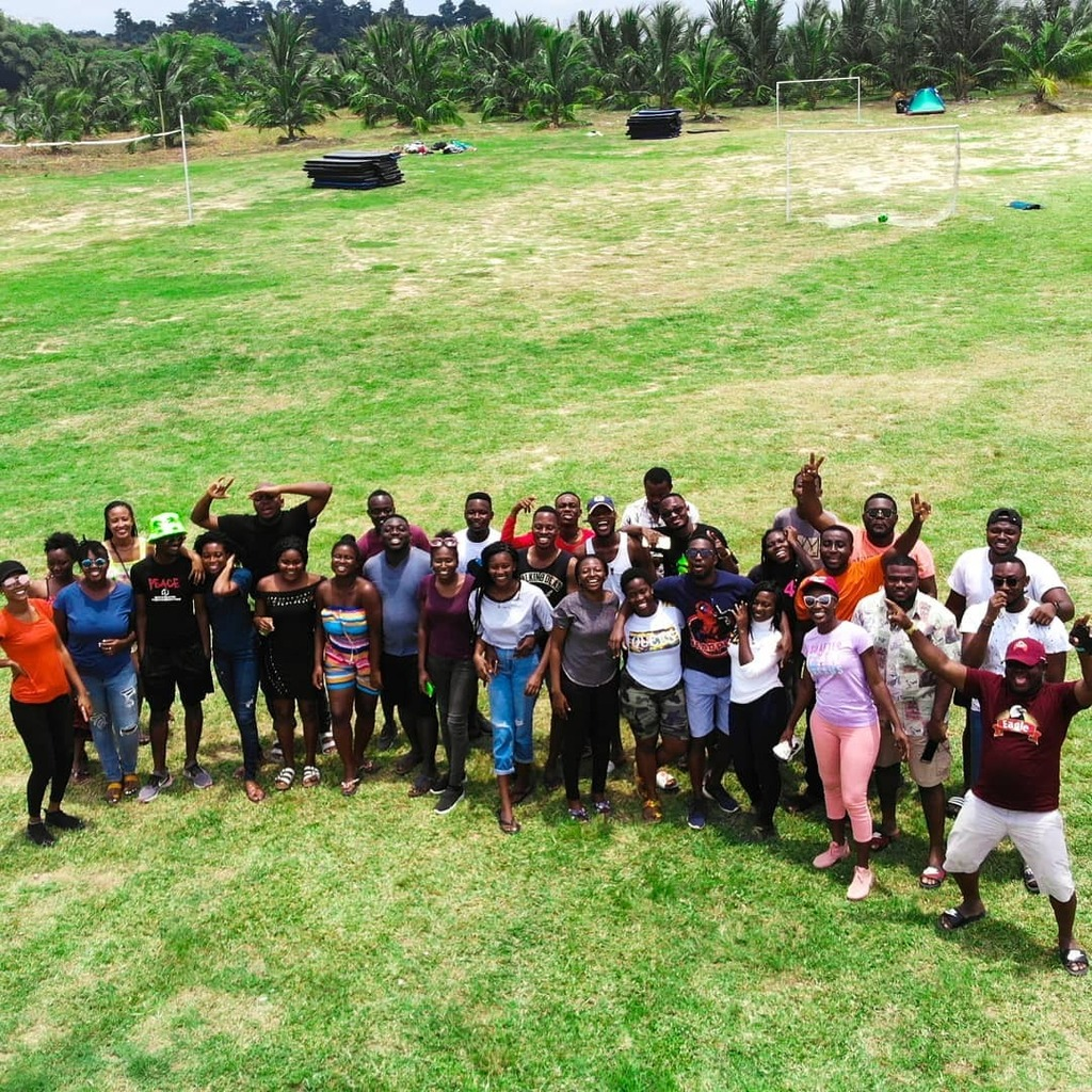 Say Wonderlaaaaand!!!! 😁😁📸📸  We can't wait to host you too!! DM or call us to book your spot! 🤸🏾♂️🚣🌴🥥🌅🔥🚴🇬🇭🍻 #TheEscape #GomoaWonderland #Camping #nature #getaway #ghana #adventure #squadgoals https://t.co/pFuqw0MBGY https://t.co/Bc3C5azunf