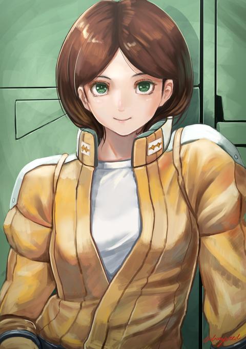 中尉 エマ 機動戦士Zガンダム 41話~50話