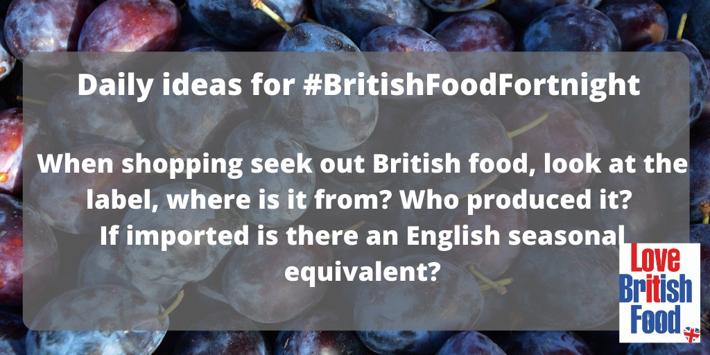 Continuing our 14 things to do during #BritishFoodFortnight https://t.co/26mKhyhFlf