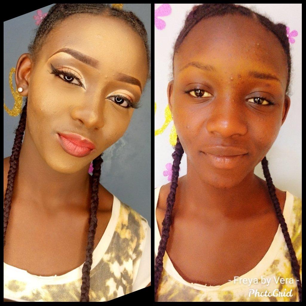 Job mi Freya by vera #makemeup #makeup  #MakeupAddict #BBNajia https://t.co/pu1ry7PRpf