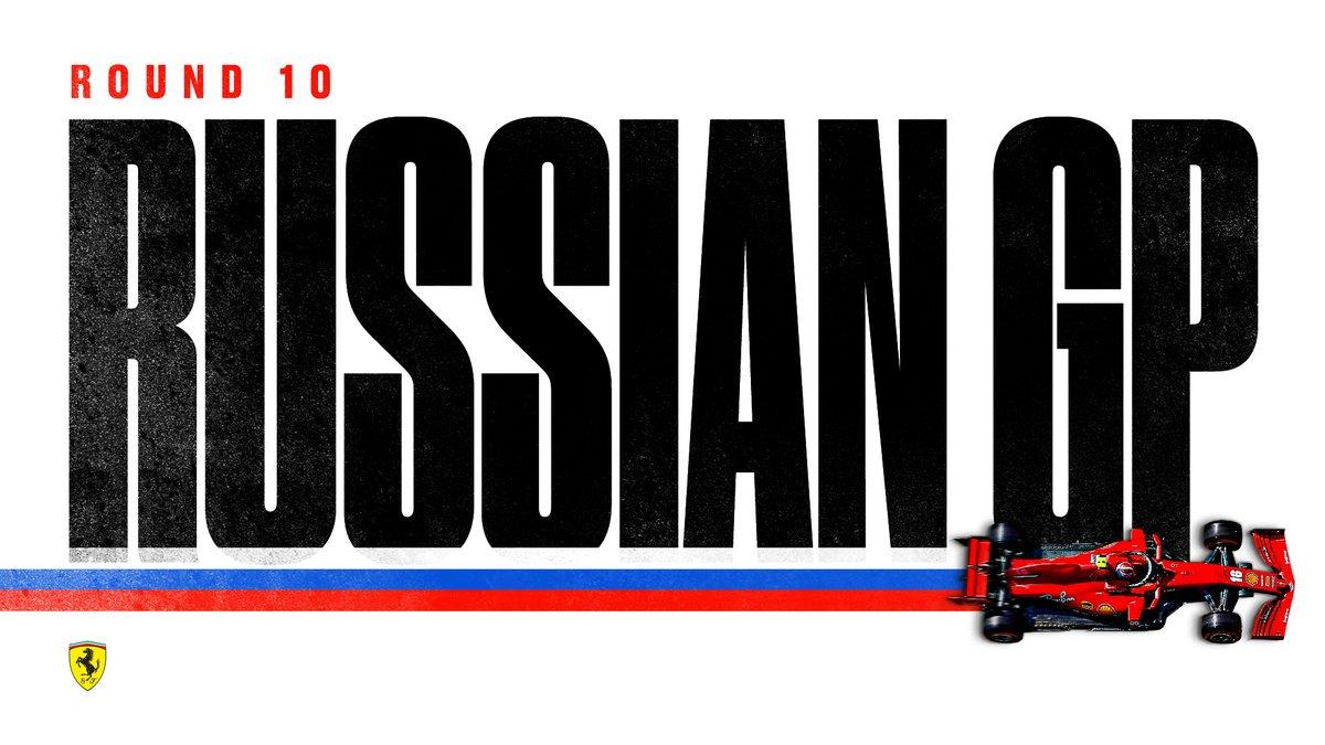 Round 10 - Sochi 🇷🇺  #essereFerrari 🔴 #RussianGP https://t.co/1zB5zhqkL4